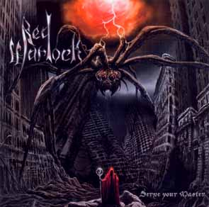 RED WARLOCK - Serve your master      CD