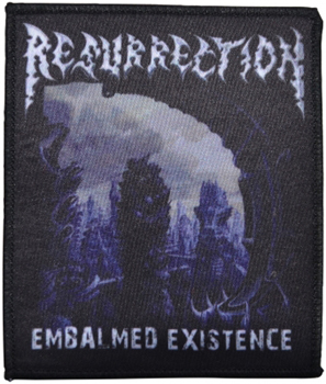 RESURRECTION - Embalmed existence      Aufnäher