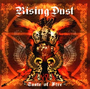 RISING DUST - Taste of fire      Maxi CD