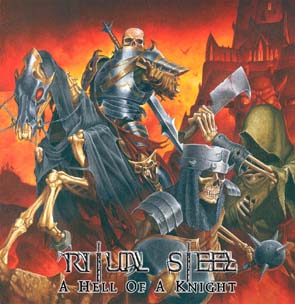 RITUAL STEEL - A hell of a knight      CD