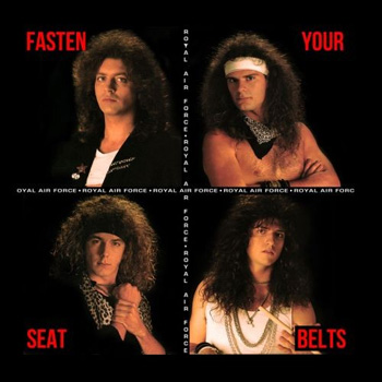 ROYAL AIR FORCE - Fasten your seat belts      CD