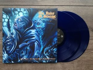 RUINS OF BEVERAST - Blood vaults - blue vinyl      DLP