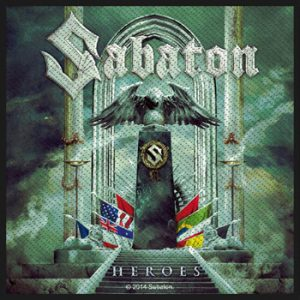 SABATON - Heroes (motiv digipak)      Aufnäher