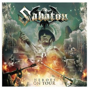 SABATON - Heroes on tour      CD