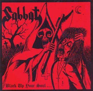 SABBAT (Jp) - Black up your soul      CD