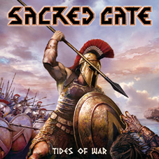 SACRED GATE - Tides of war      CD
