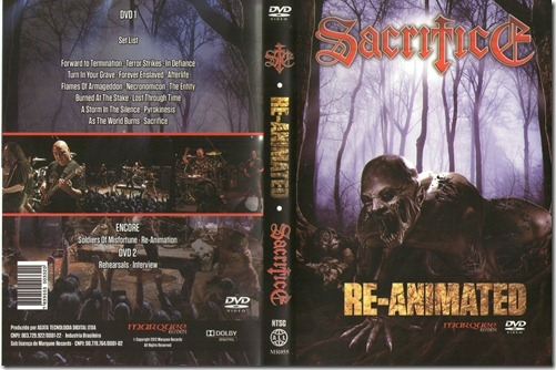 SACRIFICE - Re-animated      2-DVD