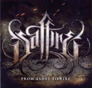 SAFFIRE - From ashes to fire      CD
