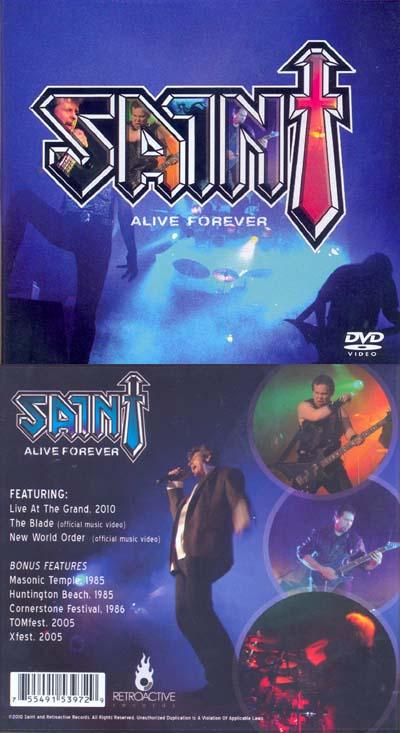 SAINT - Alive forever      DVD