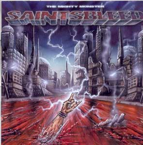SAINTSBLEED - The mighty monster      CD