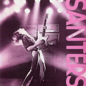 SANTERS - Shot down in flames      CD