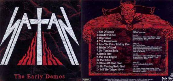 SATAN - The early demos      CD
