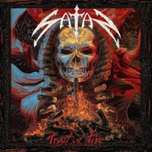 SATAN - Trail of fire - Live in North America      CD