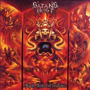 SATAN`S HOST - By the hands of the devil      CD