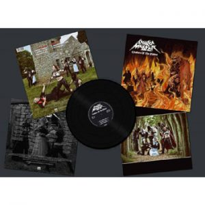 SAVAGE MASTER - Creature of the flame      LP
