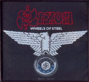 SAXON - Wheels of steel      Aufnäher