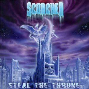 SCORCHER - Steal the throne      CD