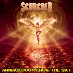 SCORCHER - Armageddon from the sky      CD