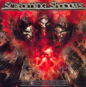 SCREAMING SHADOWS - New era of shadows      CD