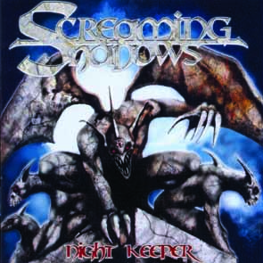 SCREAMING SHADOWS - Night keeper      CD