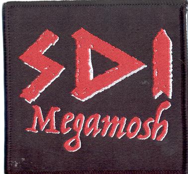 SDI - Logo megamosh      Aufnäher