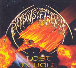 SEASONS OF THE WOLF - Lost in hell      CD