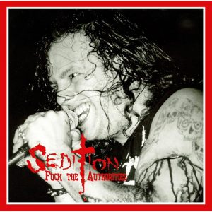 SEDITION - Fuck the authorities - limited 300 copies      LP