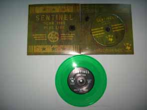 "SENTINEL - Demo 1986 + Live & Rehearsal & 7"" EP col vinyl      CD"
