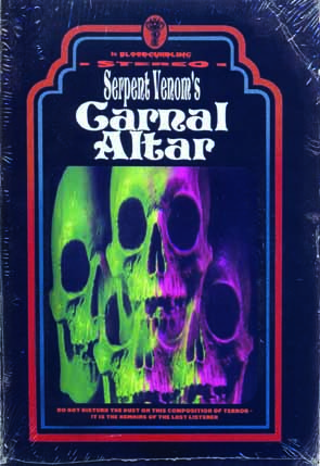 SERPENT VENOM - Carnal altar      CD