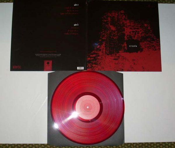 SHEVER - Rituals - red vinyl lim. 500      LP
