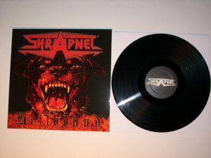 SHRAPNEL - Hellbound      LP