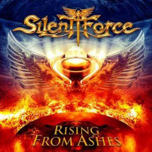 SILENT FORCE - Rising from ashes - digipak      CD