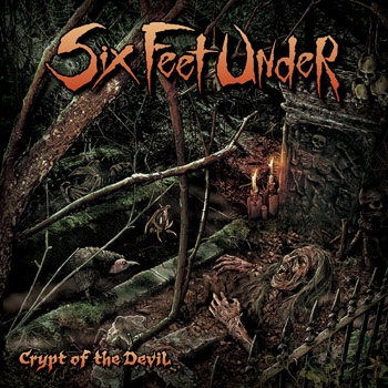 SIX FEET UNDER - Crypt of the devil      CD