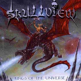SKULLVIEW - Kings of the universe      CD