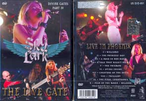 SKYLARK - The divine gates part IV - The live gate      DVD