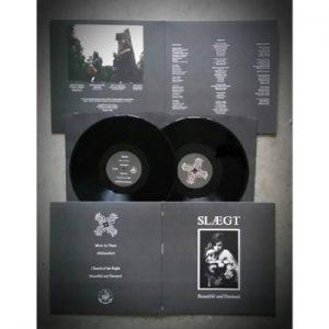 SLAEGT - Beautiful and damned      LP