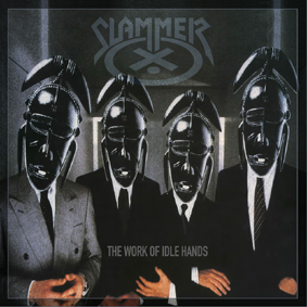 SLAMMER - The work of idle hands      CD