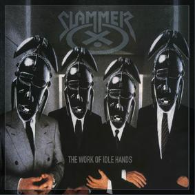SLAMMER - The work of idle hands      CD