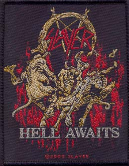 SLAYER - Hell awaits      Aufnäher