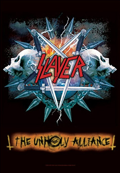 SLAYER - The unholy alliance      Flaggen