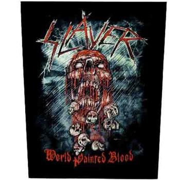 SLAYER - World painted blood      Rückenaufnäher