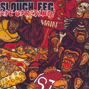 SLOUGH FEG - Ape uprising      CD