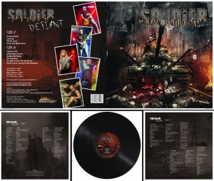 SOLDIER - Defiant - black vinyl, limited 200 copies      LP