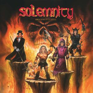 SOLEMNITY - Shockwave of steel      CD