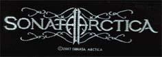 SONATA ARCTICA - Logo      Aufnäher
