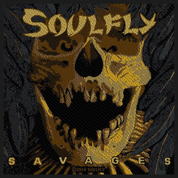 SOULFLY - Savages      Aufnäher
