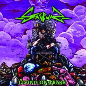 STAGEWAR - Living on t(h)rash      CD