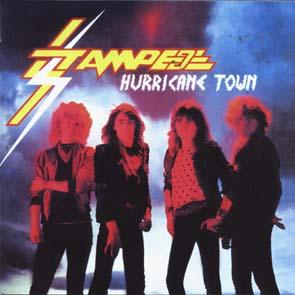 STAMPEDE - Hurricane town & 4 bonustracks      CD