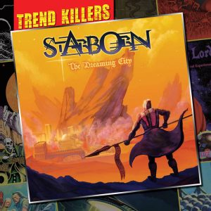 STARBORN - The dreaming city      CD