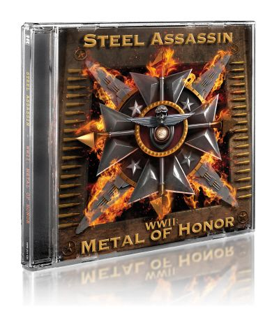 STEEL ASSASSIN - WW II: Metal Of Honor      CD